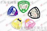 針織滴塑PVC商標 服裝服飾輔料 可定製產品商標