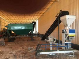 有机肥料自动包装机每分钟包装5-8袋,可包装25-50公斤