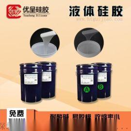 液体硅胶半透明硅橡胶优呈液态矽胶厂家