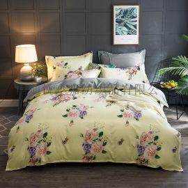 四件套网红欧式丝滑裸睡亲肤床单被套床上用品
