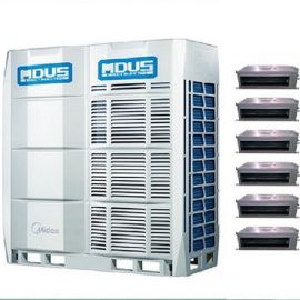 美的大型商用中央空调工程安装 美的多联机MDV