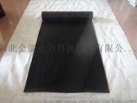 黑色配电室专用绝缘胶垫 全国金能10kv绝缘胶垫 天然橡胶绝缘胶垫