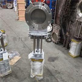 PZ673X-10C气动软密封浆闸阀 刀型闸阀