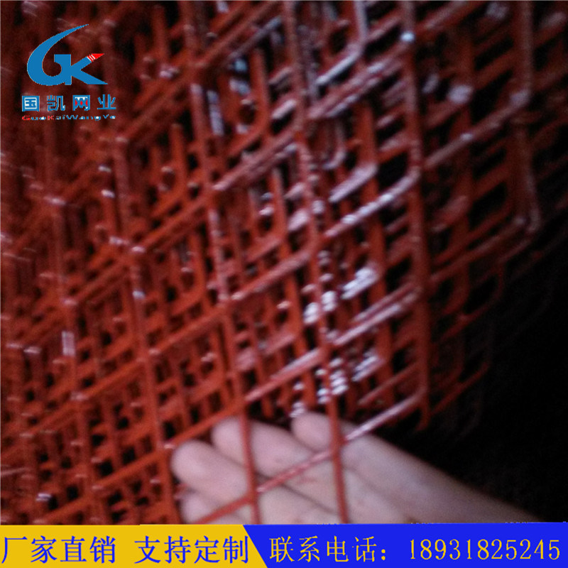 鋼板網網長 鋼板網片的短截距