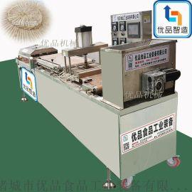 优品电磁卷饼机生产线 、 电磁烙馍机