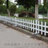 陕西咸阳pvc绿化护栏批发 木质草坪护栏照片