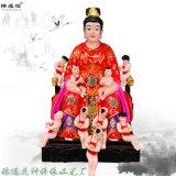 十二  玻璃钢佛像 文殊普贤  塑像 九子娘娘神像