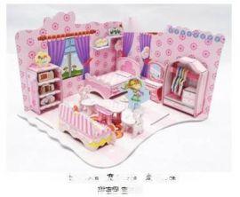 10元模式跑江湖热销3D拼图儿童益智玩具好做吗