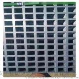 厂家定做金属方形孔装饰冲孔板 铝合金穿孔板网
