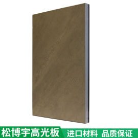 PET高光板 家具柜门  板材全屋定制钛瓷板