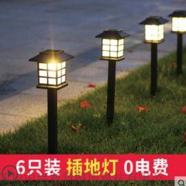 四川中晨LED七彩花园草坪灯