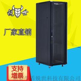 锐世网络服务器机柜 22U标准机柜