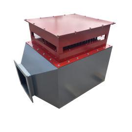 風道加熱器小型熱風爐綠色設備電加熱迴圈烘幹