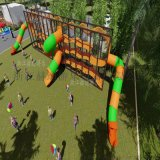 幼兒園小區戶外組合滑梯 戶外遊樂設施 不鏽鋼滑梯