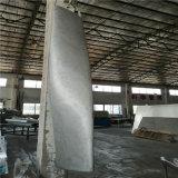 文化中心扭曲铝单板 体育馆曲面造型铝单板