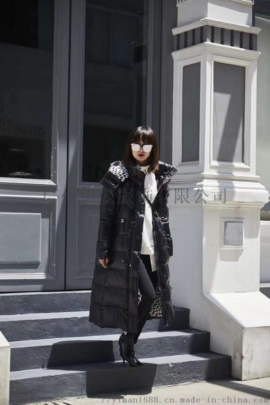 杭州一線高端潮牌達拉達20冬裝品牌折扣女裝走份
