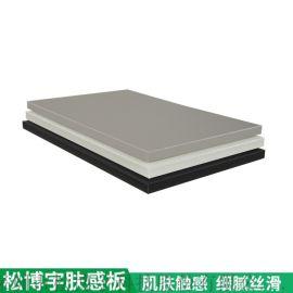 肤感烤漆板 高光板超级肤感板柜体板厂家
