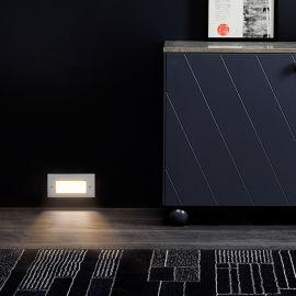 台阶灯LED户外防水长方形墙角灯嵌入式壁灯地脚灯
