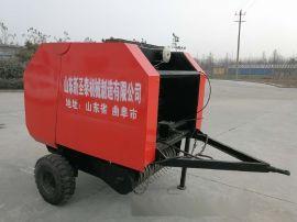 秸秆收割压捆机 苞米杆收集打包机 麦草玉米打捆机