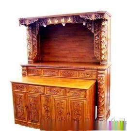 佛龛立柜实木供桌神台订制
