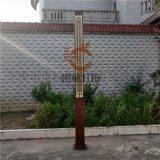 中式仿铜不锈钢立柱灯仿云石景观灯公园绿化庭院灯定制