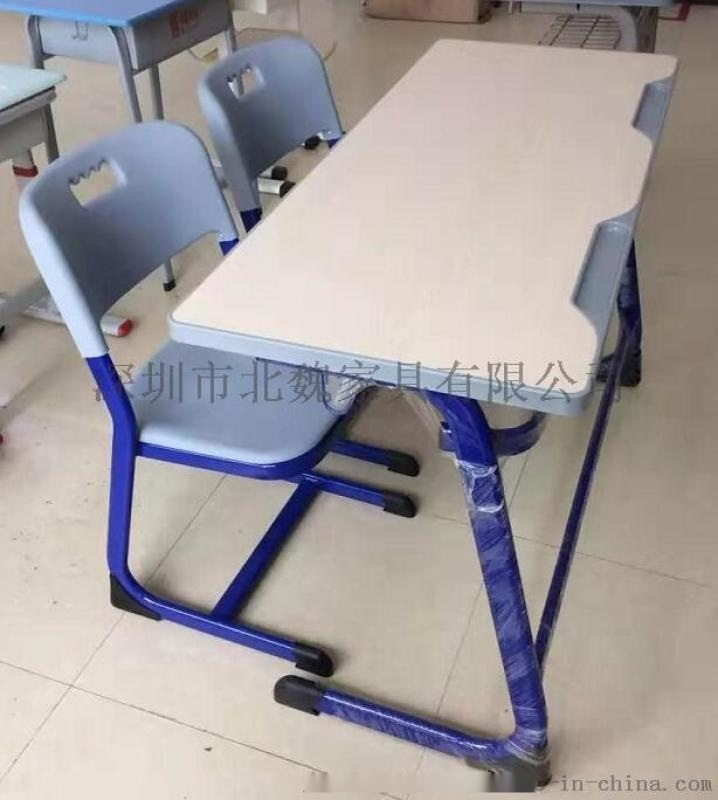 大学生课桌椅、写字板座椅课桌、学生椅、学生课桌椅