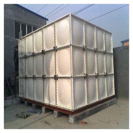 昌吉玻璃钢方形保温水箱 战时水箱生产厂