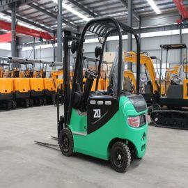 四轮座驾式电动叉车 沃特机械 环保2吨升高搬运叉车