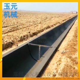 全自动一次成型水渠滑膜机 农田灌溉水渠成型机