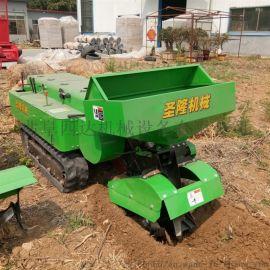 开沟施肥回填旋耕除草一体机 果园大棚  田园管理机