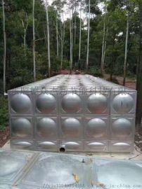焦作众杰新不锈钢保温水箱 消防水箱 组合式水箱