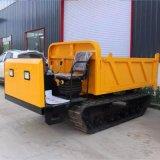 小型自卸式搬运车 履带运输翻斗车 果园用履带搬运车