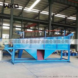 滚筒筛沙机厂家 全自动工地振动筛沙机 大型筛沙机
