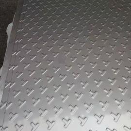 现货304不锈钢花纹板 定做不锈钢T型防滑板