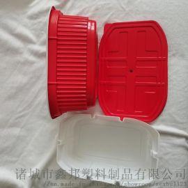 一次性自加热卤肉饭盒 PP餐盒 自热小火锅火锅盒