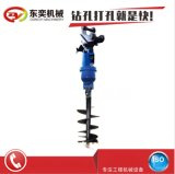 光伏樁鑽機快速引孔打樁、光伏鑽孔機