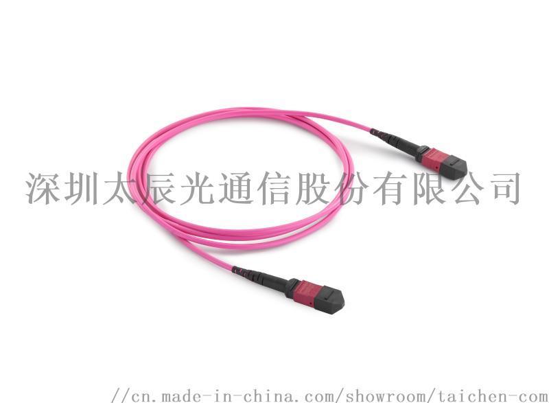太辰12芯/24芯MPO/MTP多模光纖跳線