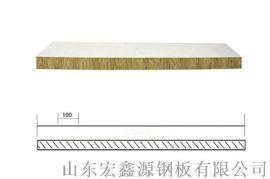 防火岩棉夹芯板厂家直销_免费设计图纸节约费用10%