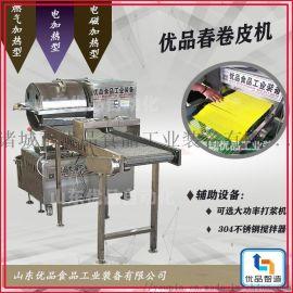 现货豆丝机、节能圆形面皮机、优品新型春卷皮机