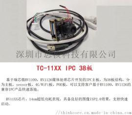 瑞芯微RV1109 RV1126 IPC 38板