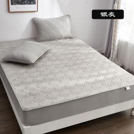 防水隔脏床笠 全棉夹棉床笠 纯棉床垫套 床保护垫