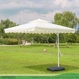 时景太阳伞-铝合金沙滩遮阳伞-庭院露台民宿香蕉伞