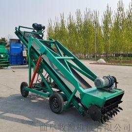 小型青贮取草机 3米高空取料机