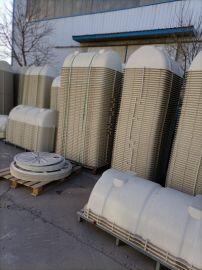 城市排污缠绕式污水池规格玻璃钢水处理罐