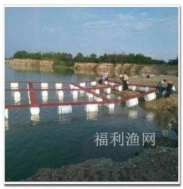 湖南福利渔网 水上养鱼网箱平台 钓鱼平台 养鱼设备
