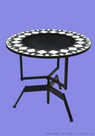 瓷砖户外烧烤炉桌子 火炉金属定制