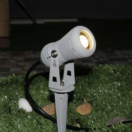 LED地插灯 户外投射灯庭院灯铝材花园照树灯外壳
