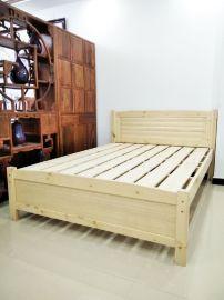 厂家直销现代简约实木高低床公寓床铁艺床