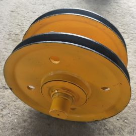生产加工  抓斗轧制定滑轮组  钢丝绳提升滑轮