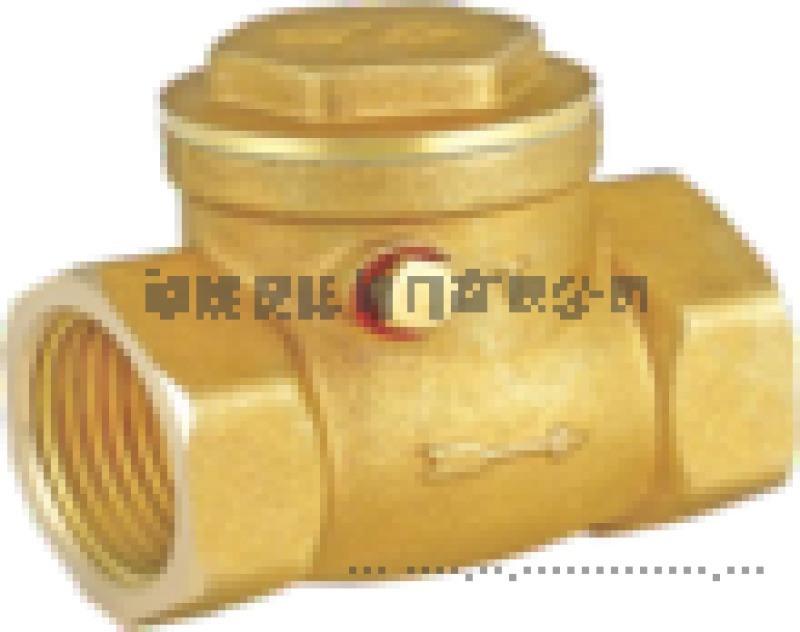 廈洋閥門 H14W-16T臥式黃銅止回閥